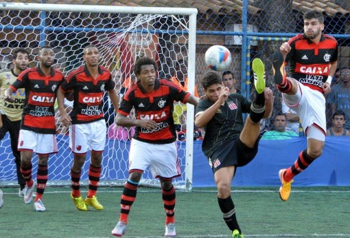 Vasco Flamengo Carioca futebol 7 (Foto: Davi Pereira/Jornal F7.com)