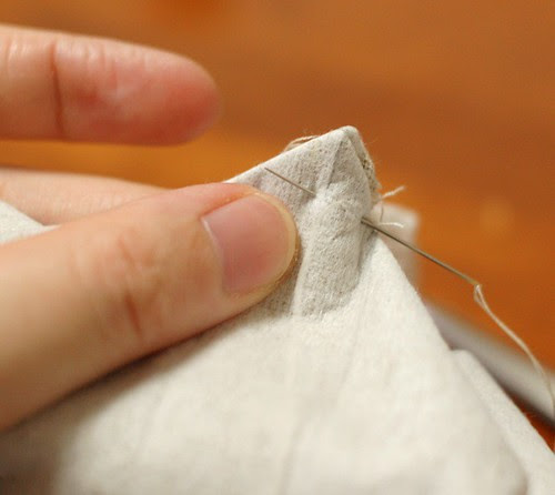 How to make a petit pouch 28