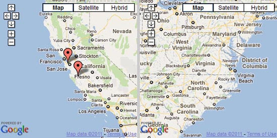 GoogleMap : Jquery Plugins For Google Maps Integration
