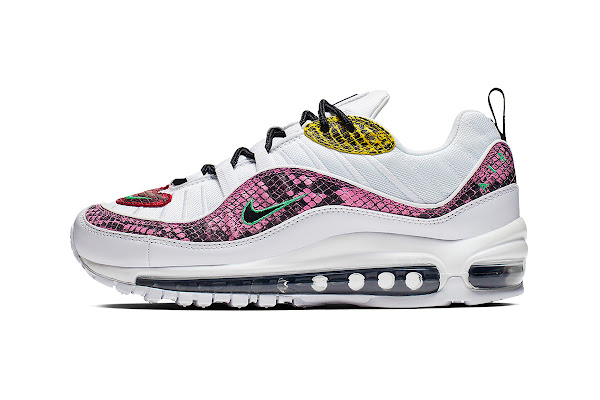 a72e4c6645 Nike Gives the Air Max 98 a Multi-Colored Snakeskin Makeover