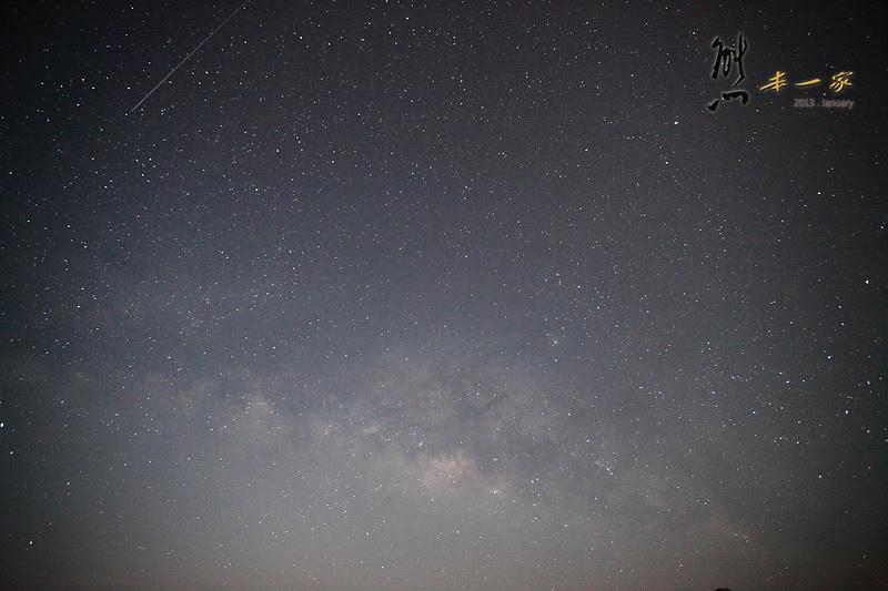 [南投清境夜景] 清境之星民宿~大露臺夜曝銀河星空|美麗日出(HDMV蟲鳴鳥叫)