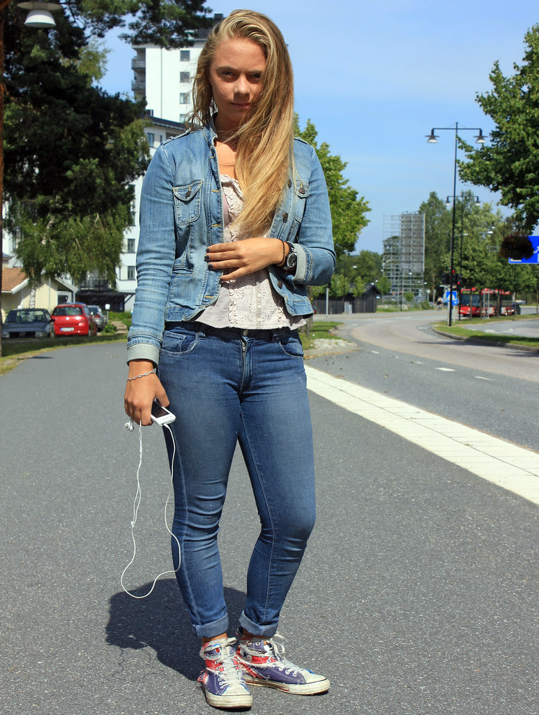 The Jeans Girl