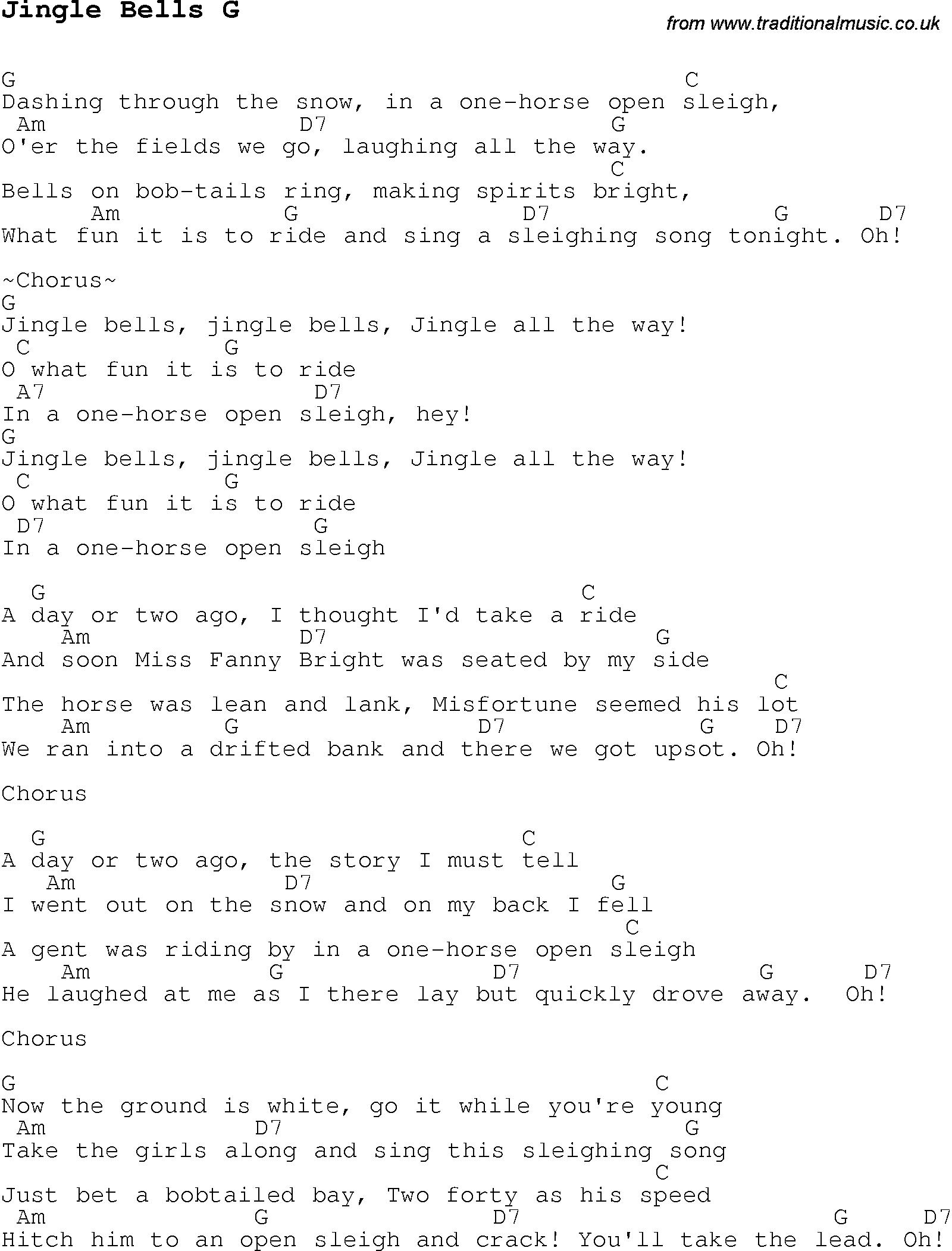 44 JINGLE BELLS GUITAR CHORDS PDF, JINGLE CHORDS BELLS PDF