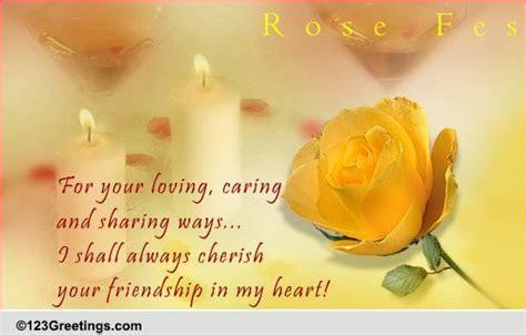 Cherish Your Friendship  Free Festival of Roses (CA