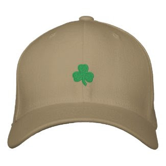 Irish Embroidered Hat