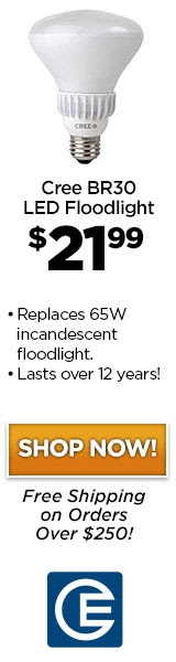 Save Time & Money with Cree's BR30 LED Floodlight Today