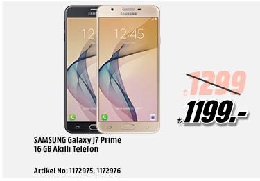 Samsung Galaxy J7 Prime 16GB Akıllı Telefon 1199TL