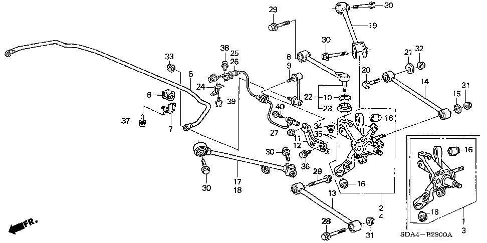33 2005 Honda Accord Parts Diagram