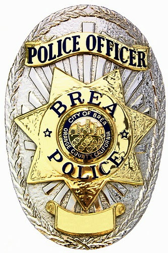 Brea Police Officer