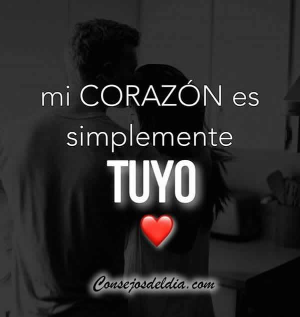 Frases Mi Corazon Es Tuyo Amor Musicadelrecuerdo Org