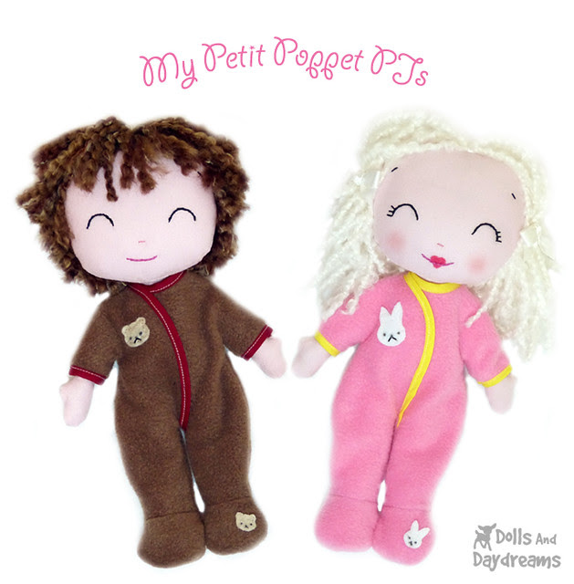 My Petit Poppet Doll Baby Bunting Pattern