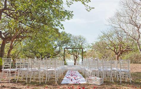 Outdoor Wedding Ceremony Inspiration   FL Keys Wedding