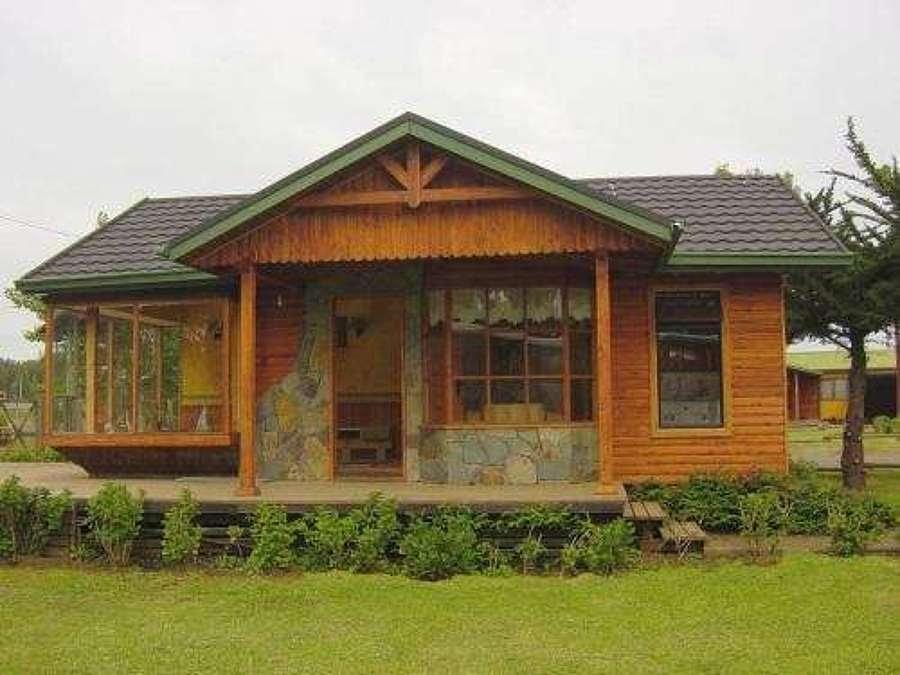 Casas de madera prefabricadas casas modulares santiago - Casas prefabricadas madera y piedra ...