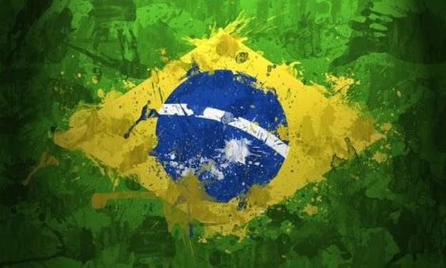 Bandeira brasileira estilizada  (Foto: Arquivo Google)