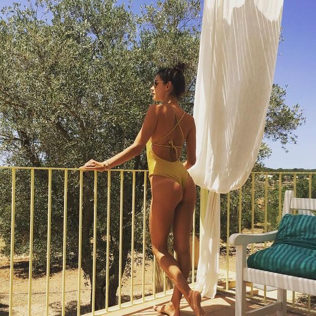 Alessandra Ambrósio  (Foto: Reprodução / Instagram)