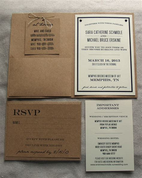 Create Your Own Wedding Invitations   DIY Wedding