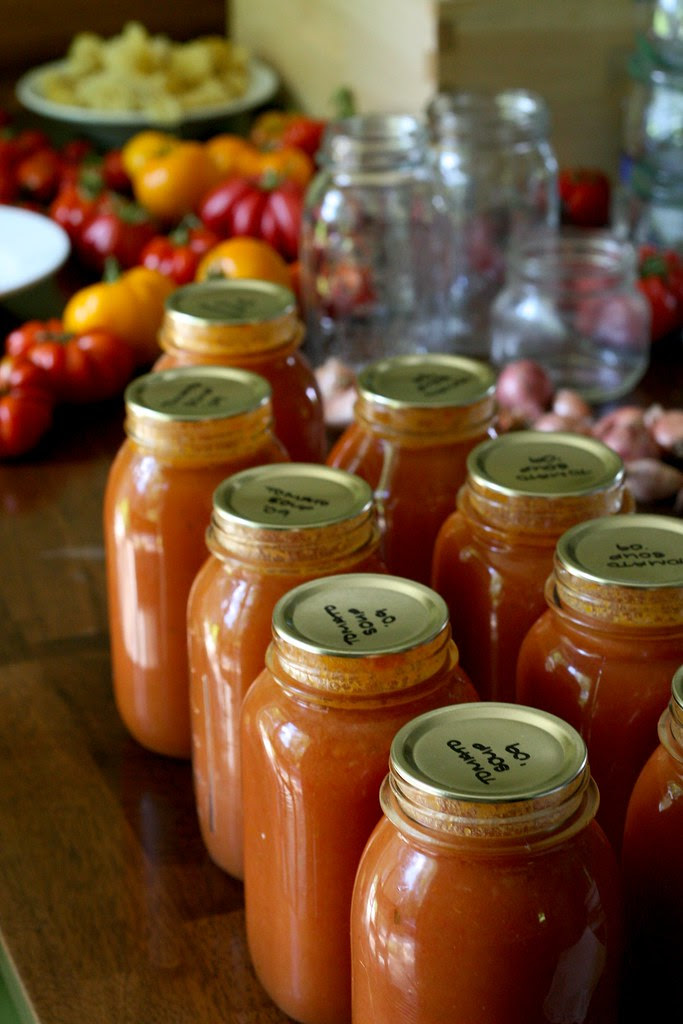 Canning Tomato Soup