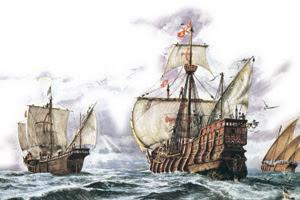 El Primer Viaje De Colón Icarito