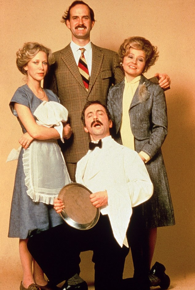 A comedy of errors: The colourful characters in Fawlty Towers kept audiences entertained in the late Seventies