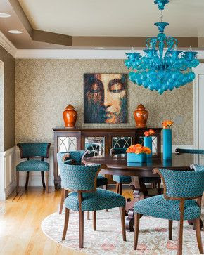 North Andover - contemporary - dining room - boston - Ana Donohue Interiors