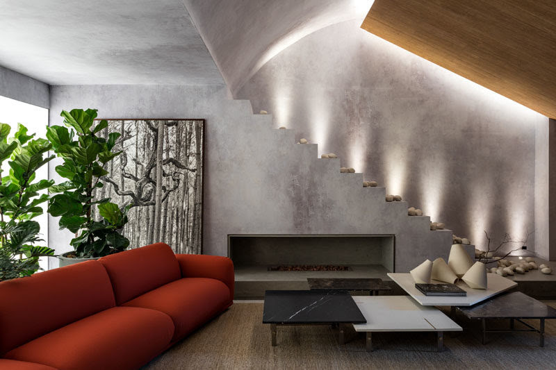 Earth Tones Set The Mood Of This Apartment Interior Design
