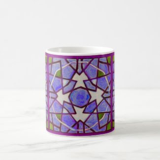 Fandangle in Purple Coffee Mugs