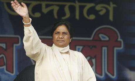 Bahujan Samaj Party (BSP) President and Uttar Pradesh chief minister Mayawati Kumari