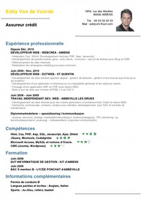Exemple De Cv Lycéen Pour Job Dété