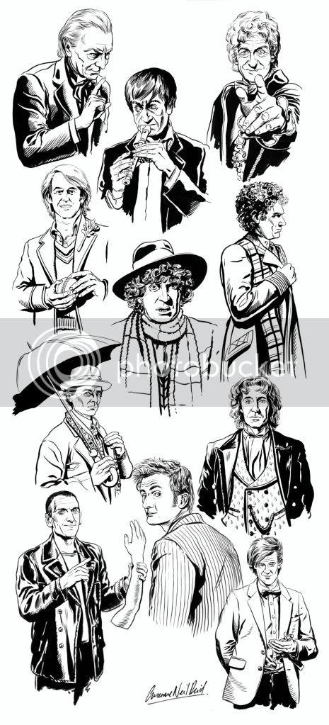 Doctor Who,illustration,Graeme Neil Reid