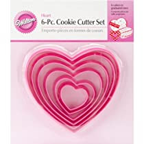 Wilton Nesting Heart Cutter Set