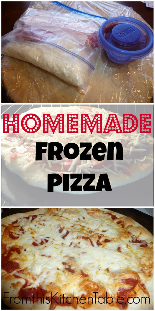 Homemade Frozen Pizza | Easy and tasty. No need to buy it from the store anymore.