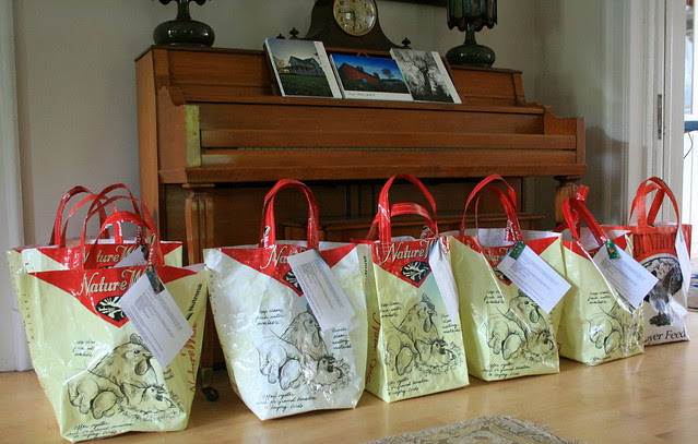 1st bags ready