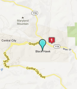 Black Hawk Colorado Map Afputra Com