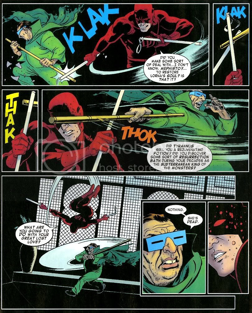 from Daredevil #10, by Mark Waid and the Riveras