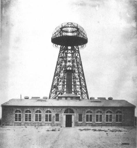 Nikola Tesla, el genio que iluminó el mundo - Torre Wardenclyffe o torre Tesla