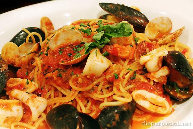 Seafood Cioppino P395 Lunch P595 Regular P895 Abbondanza