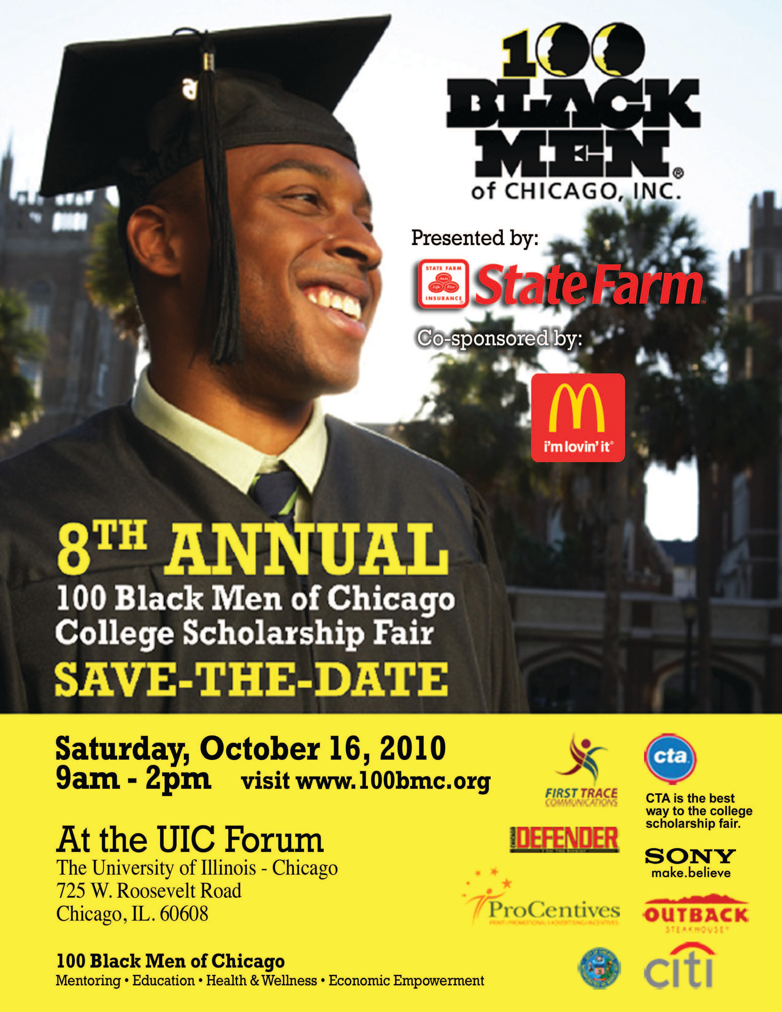 100 Black Men of Chicago College Scholarship Fair | Shorty ...