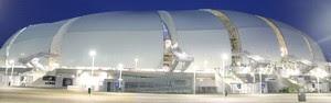 MP quer vetar gastos com estrutura temporária da Arena das Dunas (Paulo Frank / CBV)