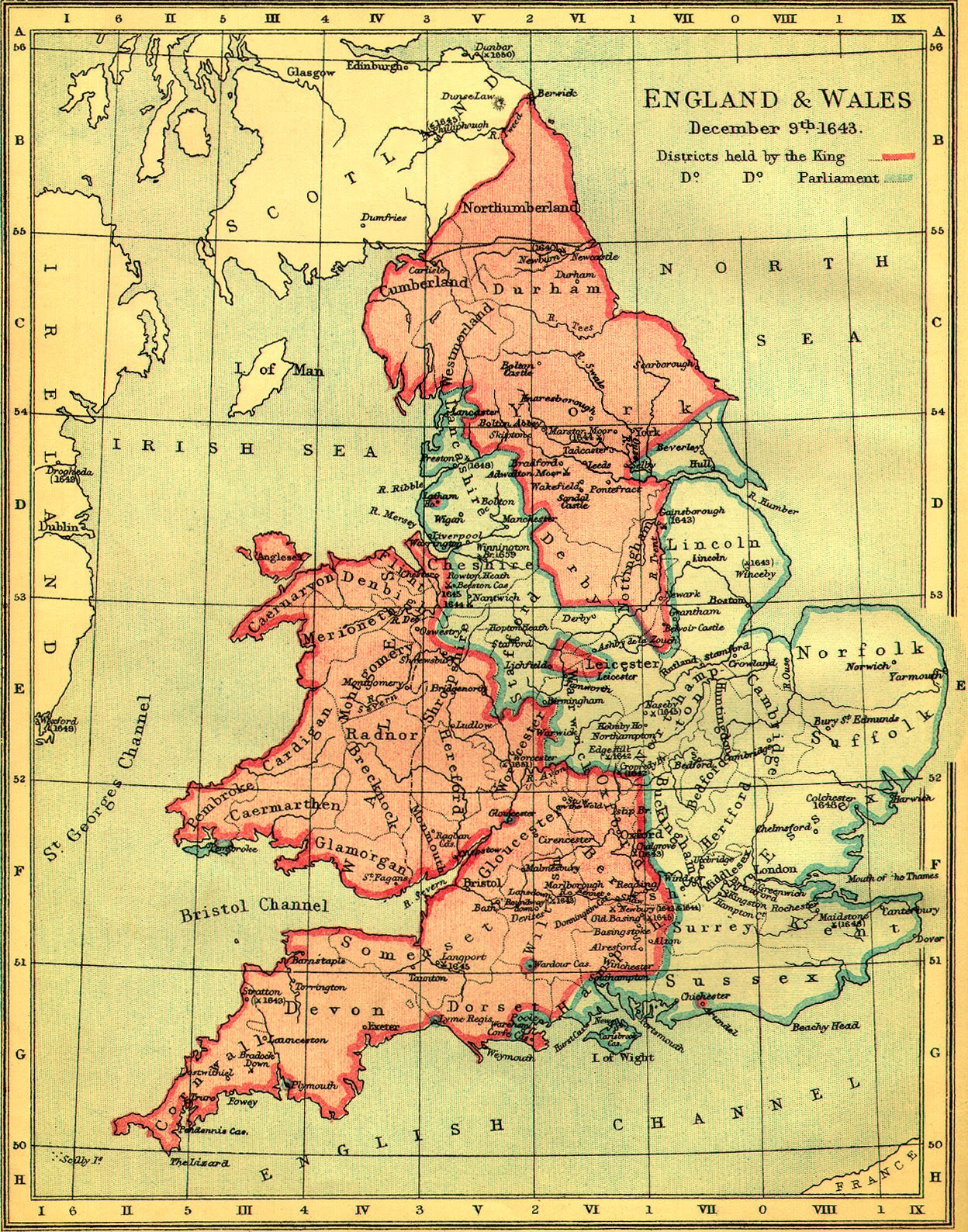 Map Of Uk 1500.Historical Maps England Afp Cv