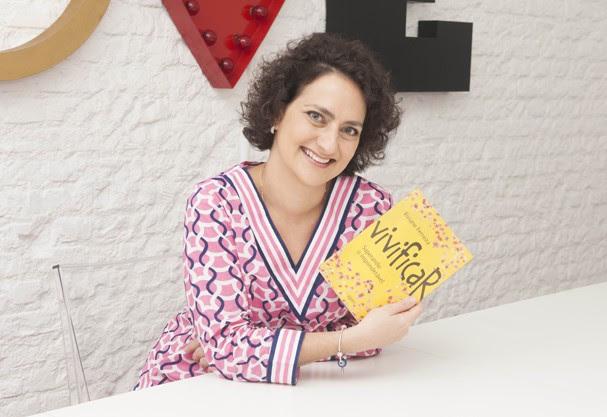 """Vivi no lançamento de seu livro: """"Vivificar, Superando o Imponderável"""" (Foto: Rodrigo Zorzi)"""