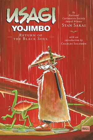 Usagi Yojimbo, v. 24: The Return of the Black Soul cover
