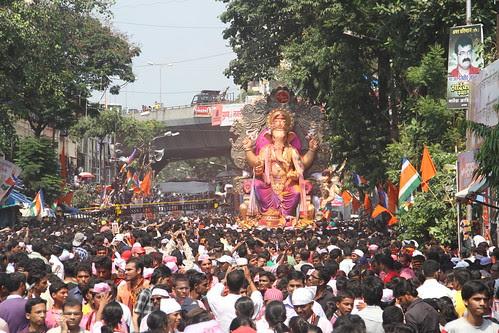 Ganesh Gully Mumbai Chya Raja Visarjan 2012 by firoze shakir photographerno1