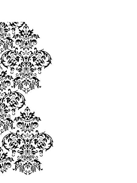 Damask Swirl   Free Images at Clker.com   vector clip art
