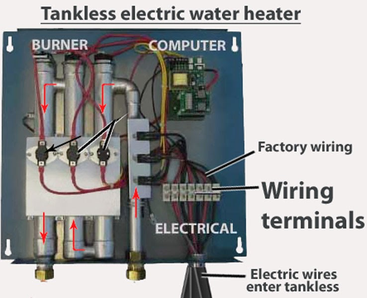For A Rheem Tankles Water Heater Wiring Diagram