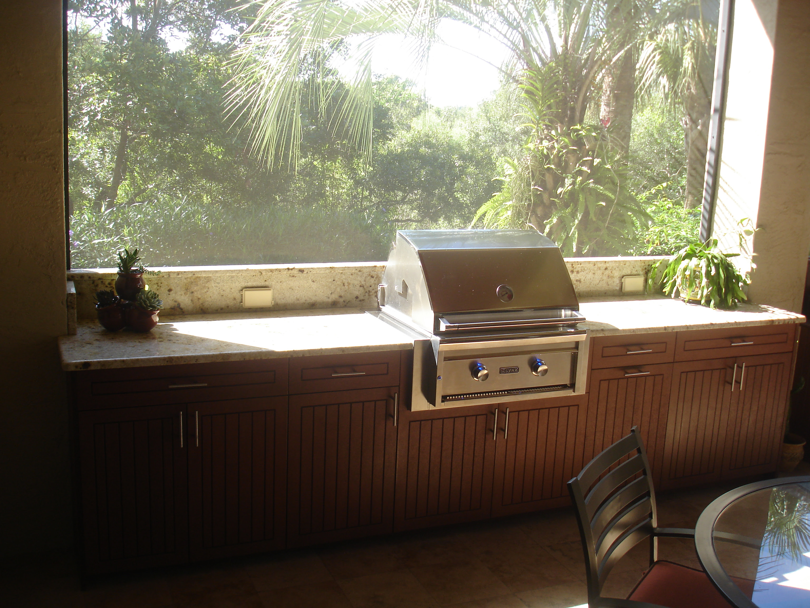 Outdoor Wood Kitchen Cabinets