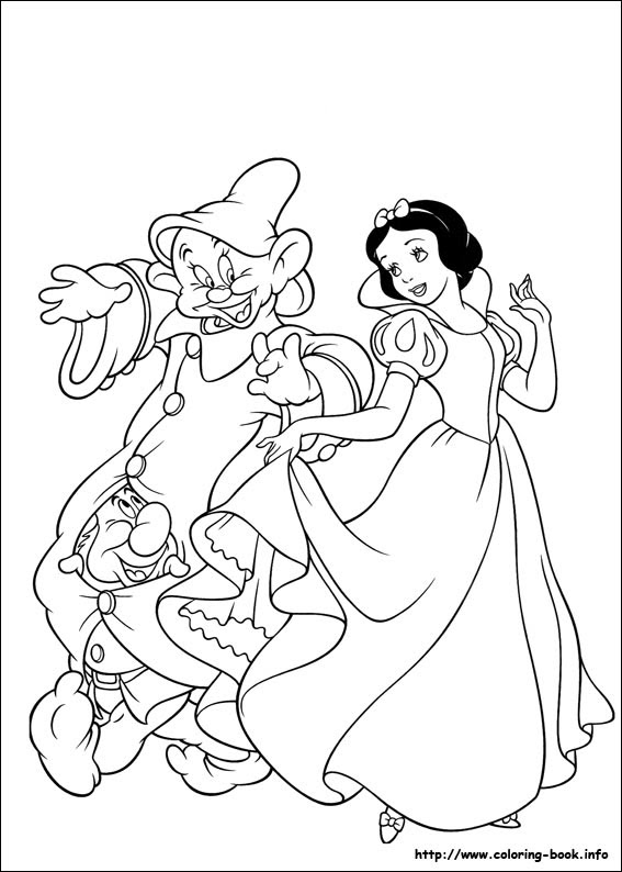 80 Coloring Book Info Snow White Picture HD
