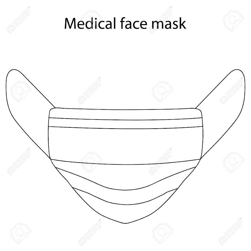Face Mask Outline