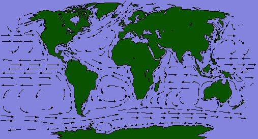 tengeráramlások térkép Tengeráramlások Térkép | Térkép