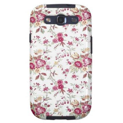 Vintage Floral Galaxy S3 Case