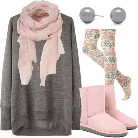 Snuggly clothes for the weekend.